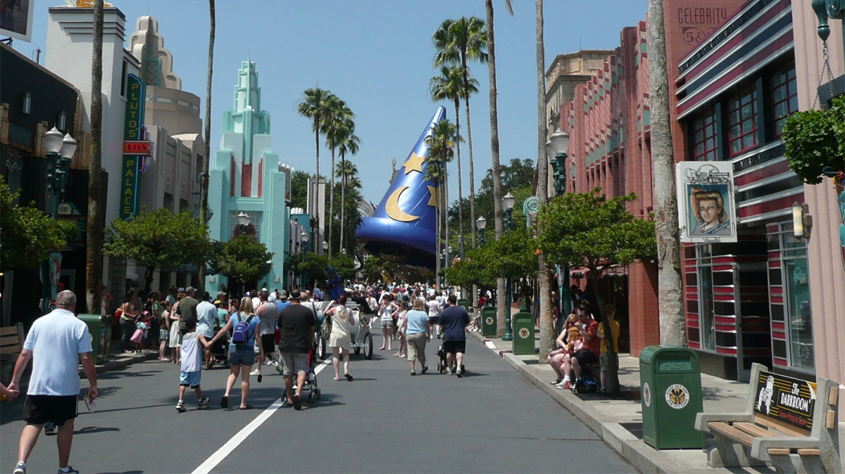 Hollywood Studios Orlando - Hollywood Boulevard