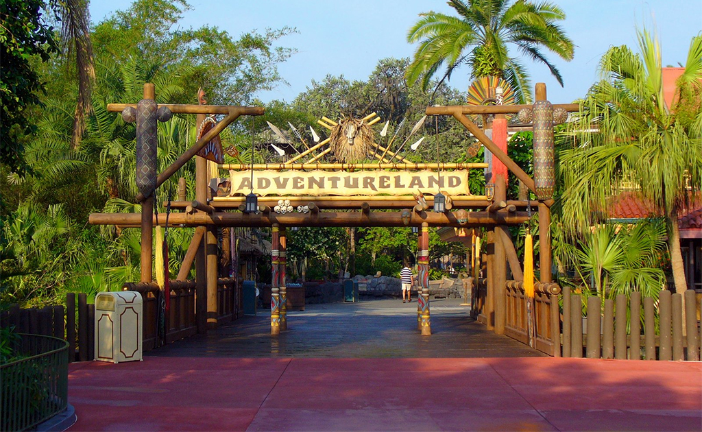Viagem para Disney - Magic Kingdom - Adventureland