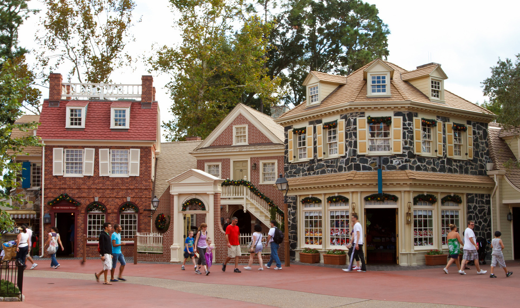 Viagem para Disney - Magic Kingdom - Liberty Square