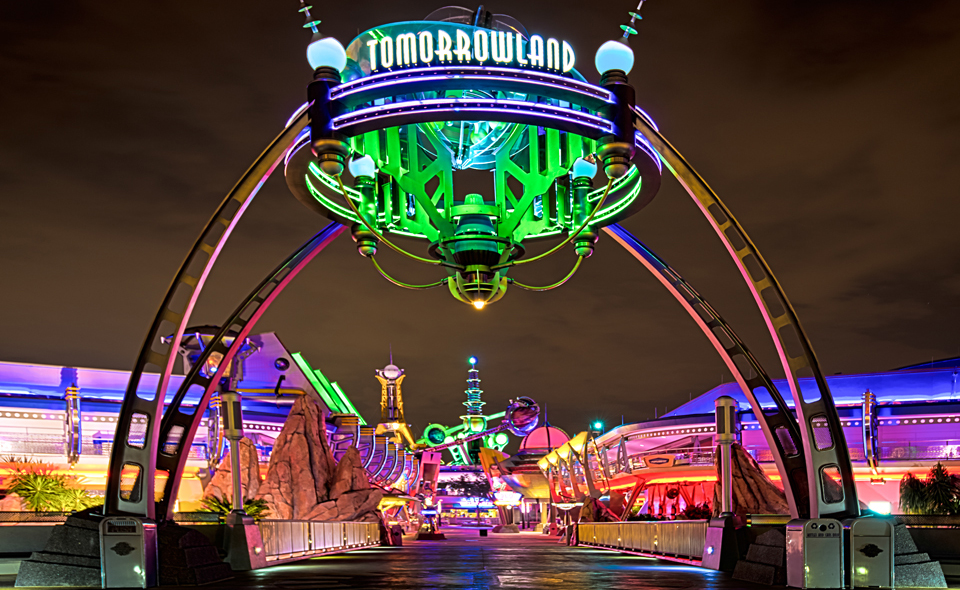 Viagem para Disney - Magic Kingdom - Tomorrowland